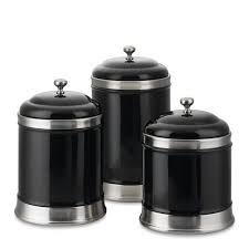 black ceramic kitchen canisters williams sonoma ceramic kitchen canisters set of 3 black new