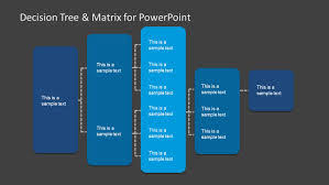 decision tree matrix for powerpoint microsoft office fax cover