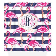 Flamingo Shower Curtains Shop Hot Pink Shower Curtain On Wanelo