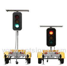 Solar Traffic Light - china optraffic traffic control warning light 12v solar traffic