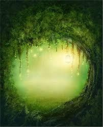 Forest Backdrop Amazon Com 5x7ft Fairy Tale Green Forest Vinyl Backdrop