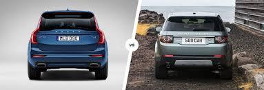 xc90 vs lexus volvo xc90 vs land rover discovery sport suv carwow