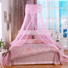 Pink Canopy Bed Online Shop Princess Bed Do Not Install 5 Colors Bedroom Home