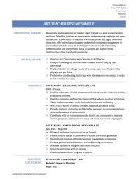 teacher resume items art education resume a resume for the modern art teacher the art