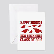 new beginnings greeting cards 2019 graduate greeting cards cafepress