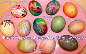 Easter Egg Decorating Ideas Bee by Mom To 2 Posh Lil Divas Fun Ways To Decorate Easter Eggs With Kids