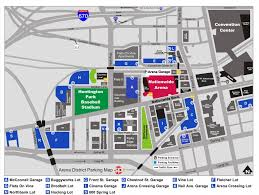 Map Downtown Boston by Arena District Parking Downtown Columbus Parking Arena District