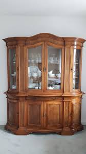 Wohnzimmerschrank Bei Ebay Klassische Selva Vitrine Venezia Olivenholz Antiquität Antik