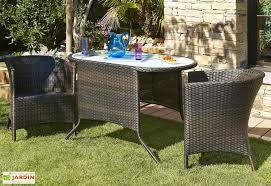 canapé de jardin 2 places salon jardin encastrable résine tressée 2 places chocolat dcb garden