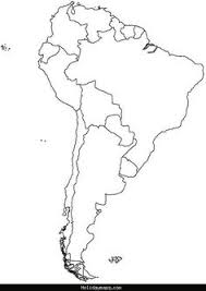 outline of south america map south america map map of south america maps and information