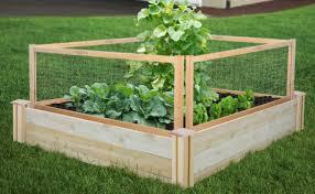 Cedar Raised Garden Bed Greenes Fence Companyraised Garden Beds Landscape Edging Fencing