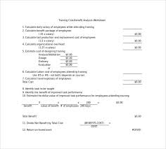 cost benefit analysis template 14 download free documents in