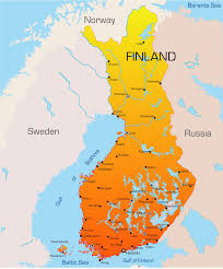 Europe Map Cities by Finland Map With Cities Blank Outline Map Of Finland