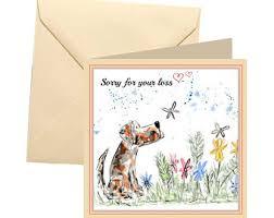 sympathy card etsy