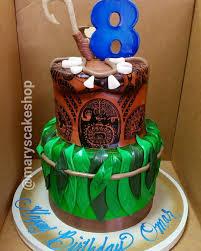 moana birthday cakes popsugar moms