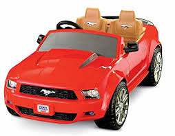 toddler mustang car amazon com fisher price power wheels ford mustang toys