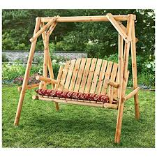 top 18 for best log porch swing