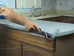 Refinish Kitchen Countertop by Restoring Formica Granite Stone And Countertop