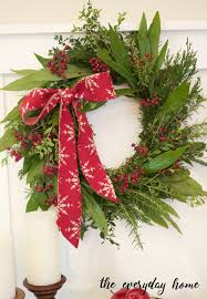 how to make wreaths how to make a evergreen wreath the everyday home