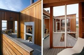 Coastal House Designs Beach House Design In Wood On California Coast