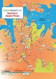 Quad Cities Map Airport Link Sydney U0027s Airport Train