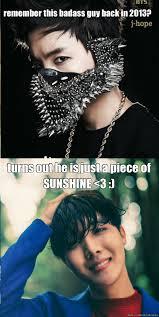 Badass Guy Meme - sunshine hobie allkpop meme center