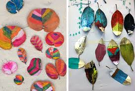 ideas to paint 14 amazing diy painted leaves artbar