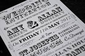 vintage style wedding invitations vintage poster style wedding invitations marty mccolgan graphic