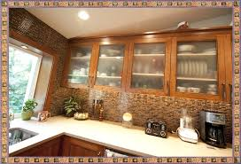 glass kitchen cabinet doors dark wood kitchen cabinets with glass