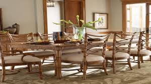 Chippendale Dining Room Set by Bamboo Dining Chairs Set Of Six Rattan Dining Chairs By Mcguire