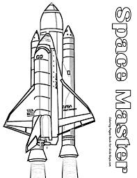 nasa rocket coloring pages 2 pics space