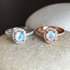 moonstone engagement rings rainbow moonstone engagement ring moonstone promise