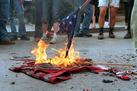 Illegal To Burn American Flag Sorry Donald Trump But Flag Burning Hasn U0027t Been Illegal Since