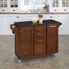 black granite kitchen island home styles 9100 1074 create a cart 9100 series