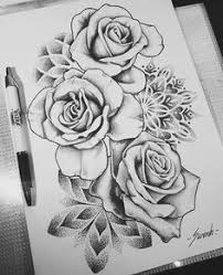 rose and stem google search rose and tattoo