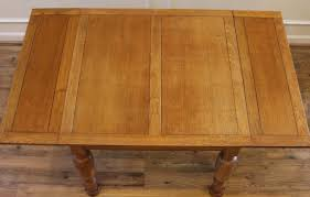 antique english oak pub table and 4 chairs dining set for sale