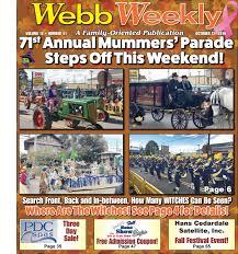 webb weekly october 12 2016 by webb weekly issuu