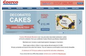 cake order costco uk now has online ordering for cakes addicted to costco