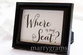 where to buy a card table wedding signs wedding ceremony reception signage
