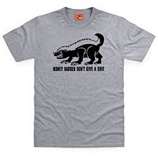 Meme Honey Badger - meme honey badger t shirt male co uk clothing