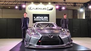 rcf lexus 2017 2017 lexus rc f gt3 revealed by gazoo at tokyo auto salon