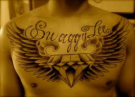 chest quotes wings design idea for and