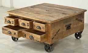 Wohnzimmertisch Holz Finebuy Couchtisch Massiv Holz Sheesham 110 Cm Breit Wohnzimmer