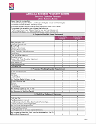 profit and loss statement template free download free residential