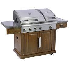 Barbecue Gaz Occasion by Bd 5 Burner With Side Burner Gas Grill Walmart Com
