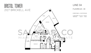 Skyline Brickell Floor Plans Bristol Tower