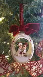 disney parks ornament globe mickey and minnie mouse