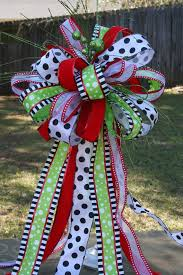 White Bows For Tree Tree Topper Minnie Mouse Bow Disney Inspired Bow Topper