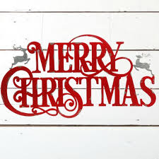 merry christmas sign large metal merry christmas sign antique farmhouse