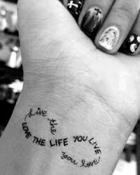 the 25 best wrist tattoos quotes ideas on pinterest faith quote